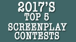 best screenplay competitions 2017