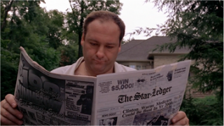 Why I love The Sopranos Pilot by DAVID CHASE