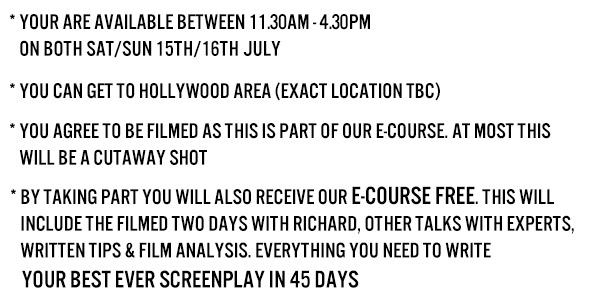 Richard Walter Course Info