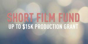 2018 Short Film Fund Screenwriting