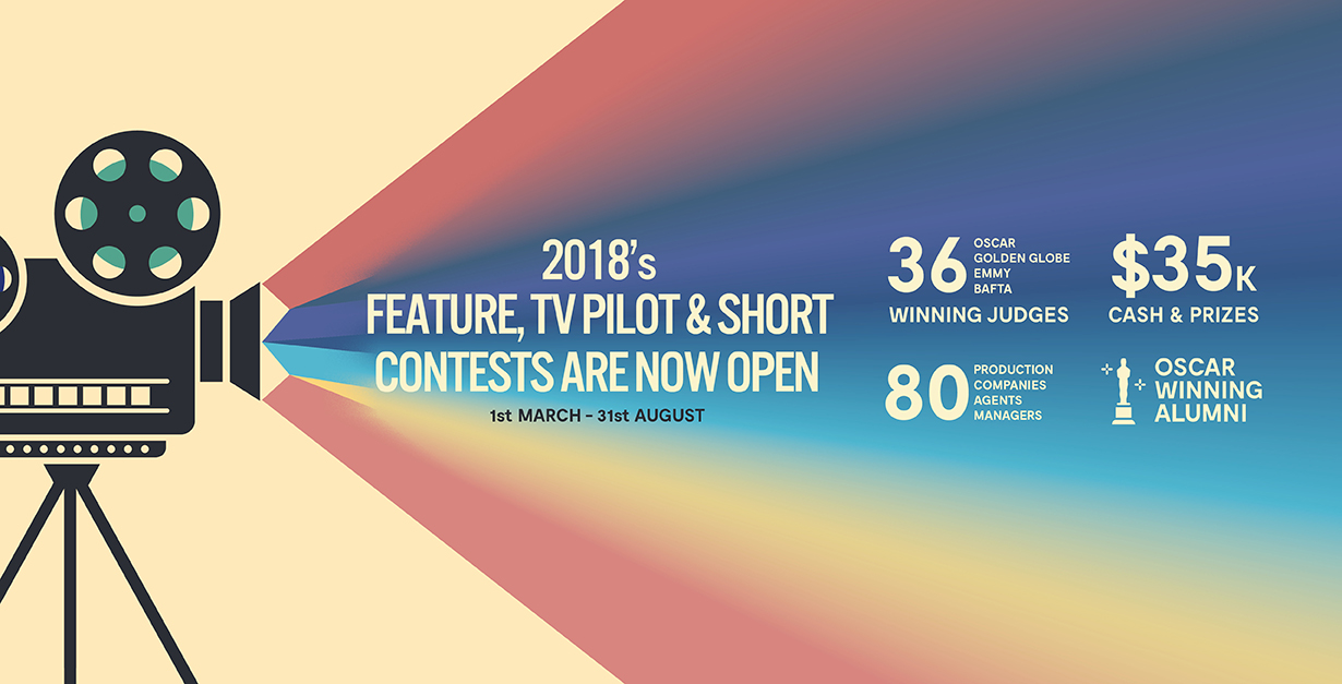 Our 2018 Screenwriting Contests are NOW OPEN! | Animation