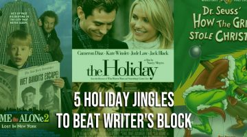 5 Holiday Jingles to Beat Writer's Block